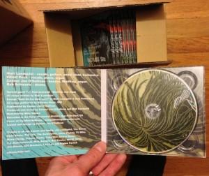 Restless Sun CD inner sleeve